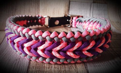 Paracord halsband Wide Sanctified